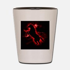 Fire Horse Shot Glass