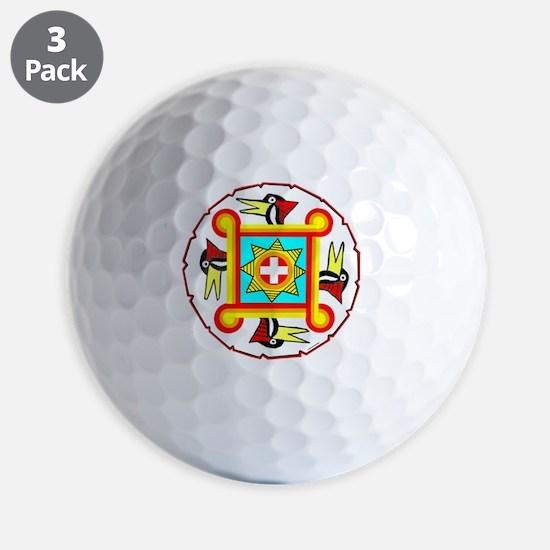 SOUTHEAST INDIAN DESIGN Golf Ball