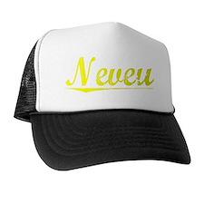 Neveu, Yellow Trucker Hat