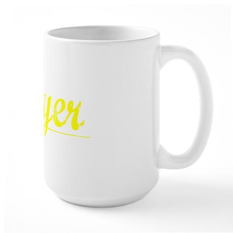 Moyer, Yellow Large Mug