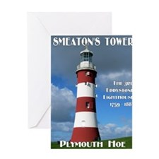 Smeatons Tower Greeting Card