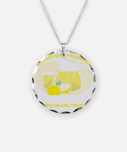 Make Lemons Necklace