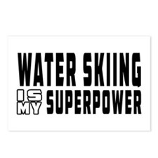 Water Skiing Is My Superpower Postcards (Package o