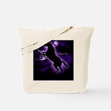 Lightning Horse Tote Bag