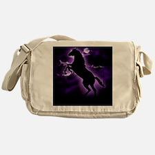 Lightning Horse Messenger Bag
