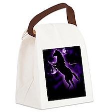 Lightning Horse Canvas Lunch Bag