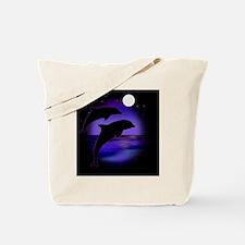 Dolphins bg Tote Bag