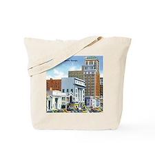 Vintage Georgia Broad Street Tote Bag