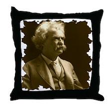 Twain1906_portraitseated_bradley1242x Throw Pillow