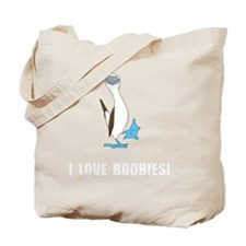 Love Boobies Tote Bag