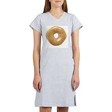 donut glazed_donut_largeldbutla Women's Nightshirt
