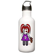 Cute Gothic  Redhead L Water Bottle