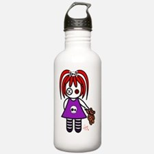 Cute Gothic  Redhead L Water Bottle