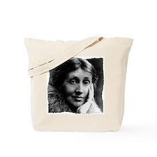 woolfCLOCK (framed with ArtEdges) Tote Bag