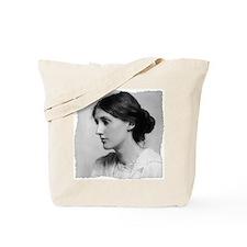 virginia-woolf (framed with ArtEdges) Tote Bag
