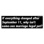 Everything Changed Gay Marriage Sticker