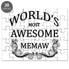 World's Most Awesome Memaw Puzzle