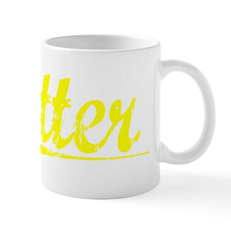 Otter, Yellow Mug