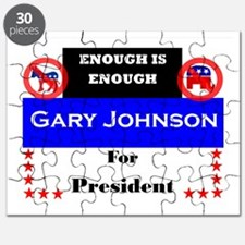 Gary Johnson for President Puzzle