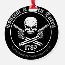 Open Carry & Concealed Carry Logo Ornament
