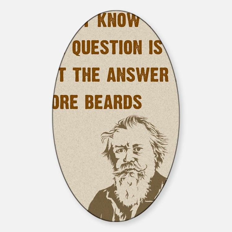 Question/Beard/OldMan Decal