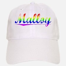 Malloy, Rainbow, Baseball Baseball Cap