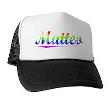 Matteo, Rainbow, Trucker Hat