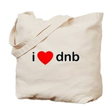 I Love Drum And Bass Tote Bag