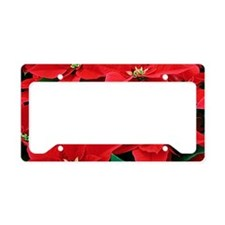 PoinsettiaBucketBag-a License Plate Holder