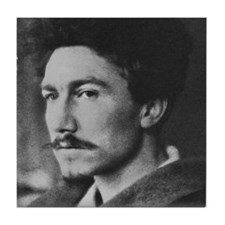 Ezra Pound Tile Coaster