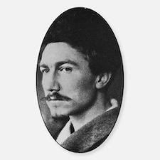 Ezra Pound Sticker (Oval)