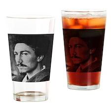 Ezra Pound Drinking Glass