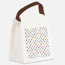 PawprintsFliFlops Canvas Lunch Bag