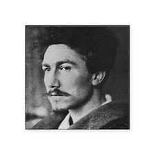 """Ezra Pound Square Sticker 3"""" x 3"""""""