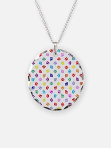 PawprintsFliFlops Necklace