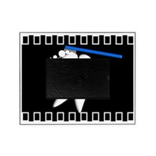 Tooth blanket 1 black Picture Frame