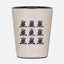 Invasion of the Neptune Men Shot Glass