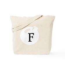 The F Bomb White Tote Bag