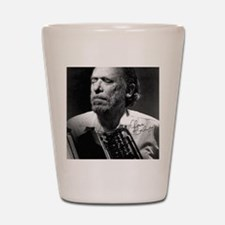 Charles Bukowski Shot Glass