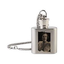 Agatha Cristie Flask Necklace