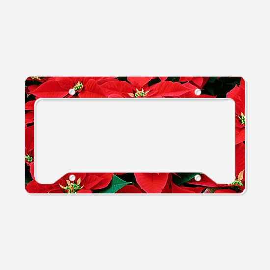 PoinsettiaShoulderbag-a License Plate Holder