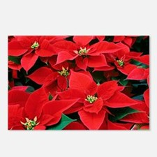 PoinsettiaShoulderbag-a Postcards (Package of 8)