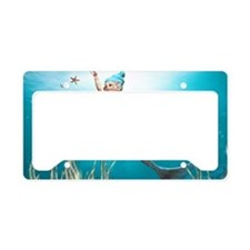 lm1_Rectangular Canvas Pillow License Plate Holder