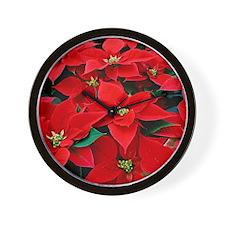 Poin12x12Green Wall Clock