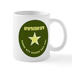 Green Circle Mug