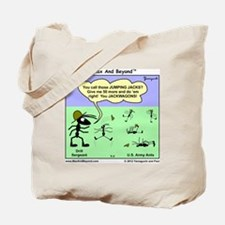 Max and Beyond U.S. Army Ants Cartoon Tote Bag