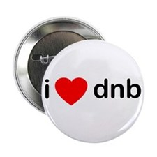I Love Drum And Bass Button