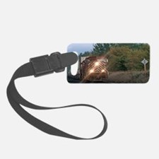 Speeding Locomotive-patch Luggage Tag