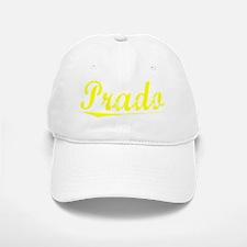 Prado, Yellow Baseball Baseball Cap