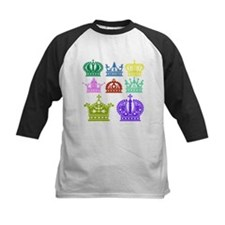 Colored Crown Silhouette Collection Baseball Jerse